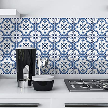 10pcs Waterproof Tiles Mosaic Wall Sticker Kitchen Bathroom Adhesive Decor