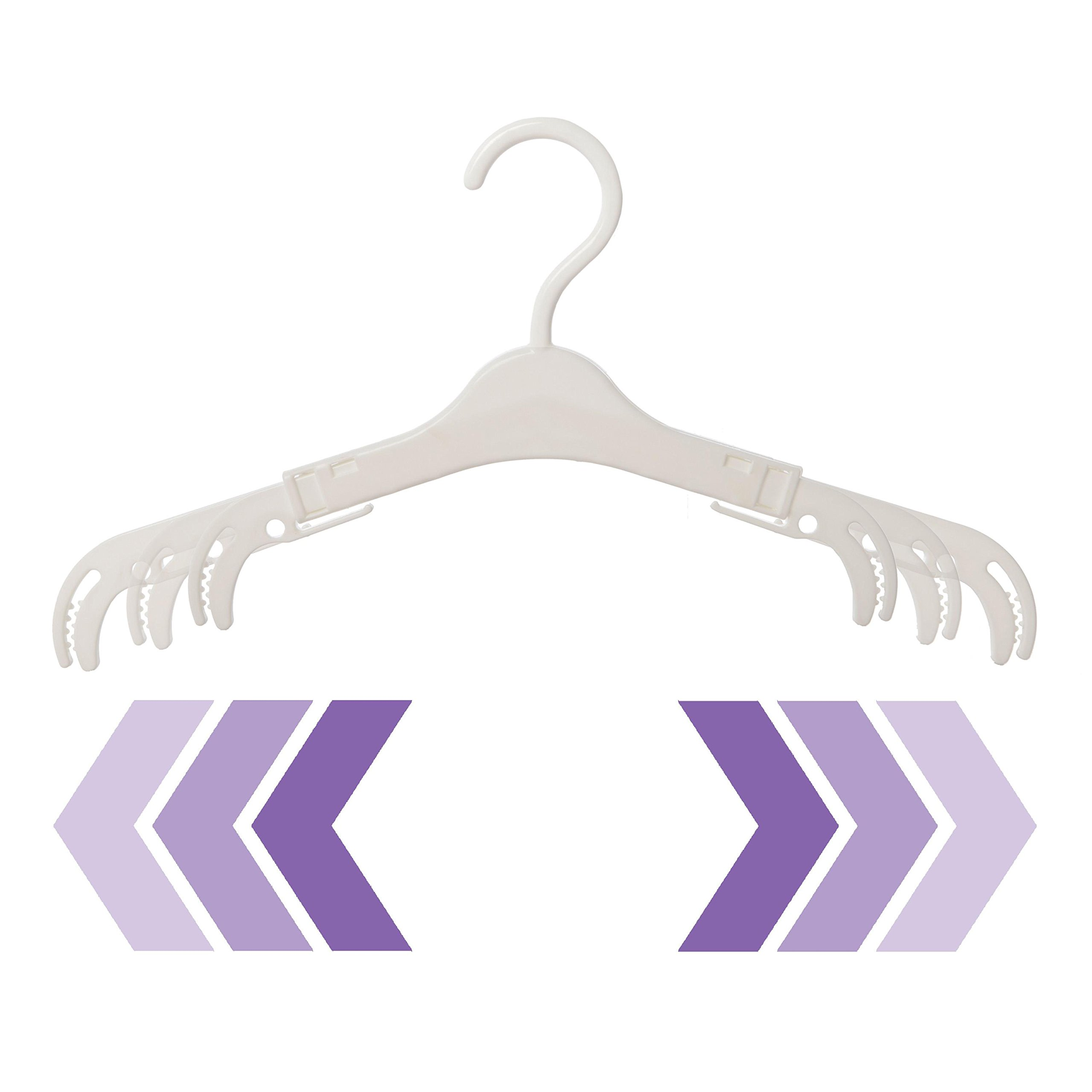 Dreambaby Grohangers, 4 Count, White by Dreambaby (Image #3)