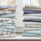 Cozy Flannel Sheet Set Multi Forest Animals Twin XL