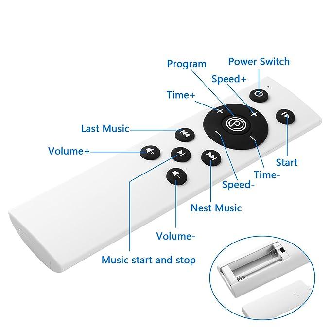FastDirect Plataforma vibratoria de fitness Motor 200W LCD Pantalla ...