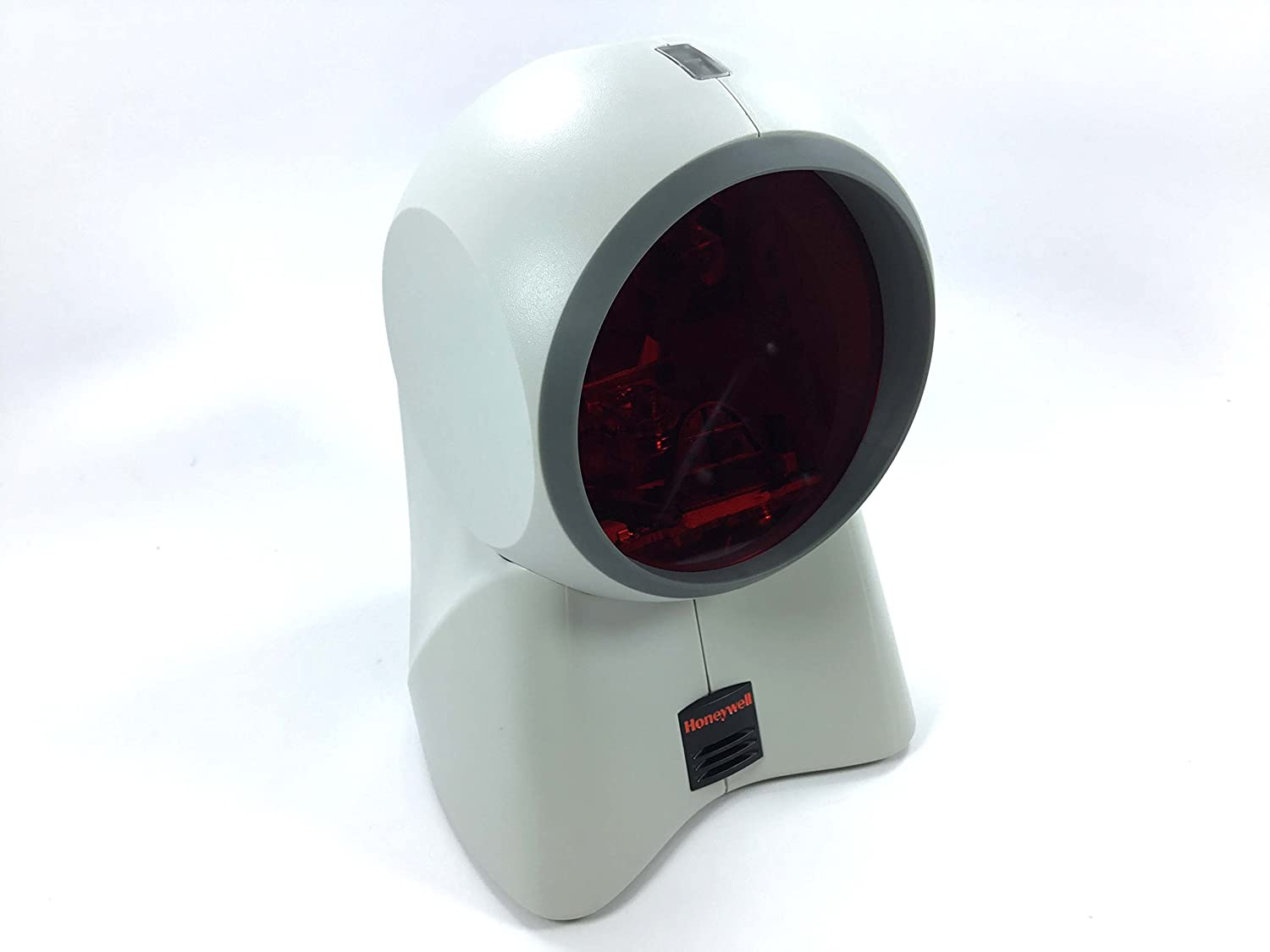 Honeywell Orbit MK7180-71A38 Omnidirectional Presentation Laser Scanner (Upgraded Model of MK7120), Including USB Cord and Mounting Plate Kit (White)