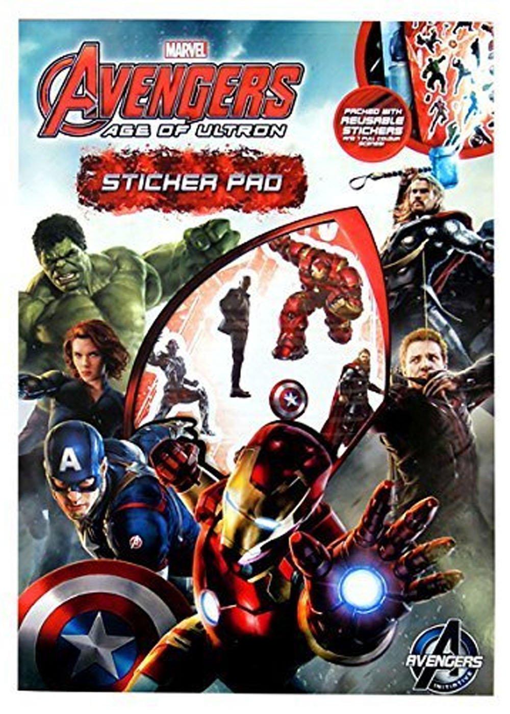 Avengers Age of Ultron Sticker Pad