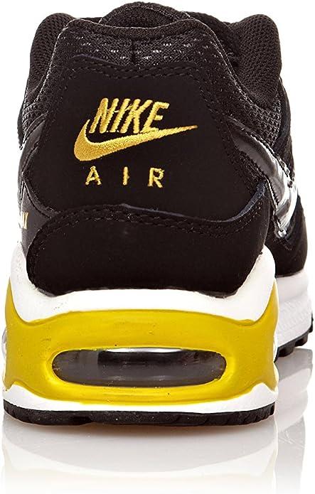 Nike Sneaker Air Max Command (GS) NeroGiallo EU 37.5 (US 5
