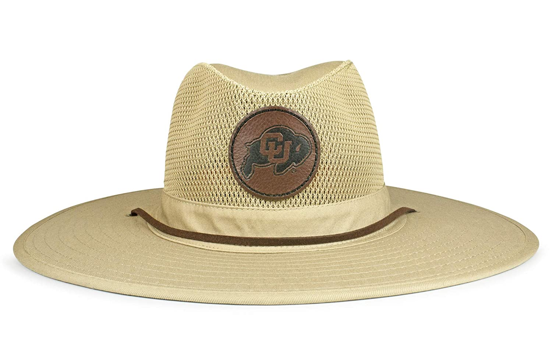 5024ba722 Amazon.com   Cowbucker NCAA Colorado Buffaloes Unisex NCAA Crushable Mesh  Safari Sun Hatncaa Crushable Safari Hat