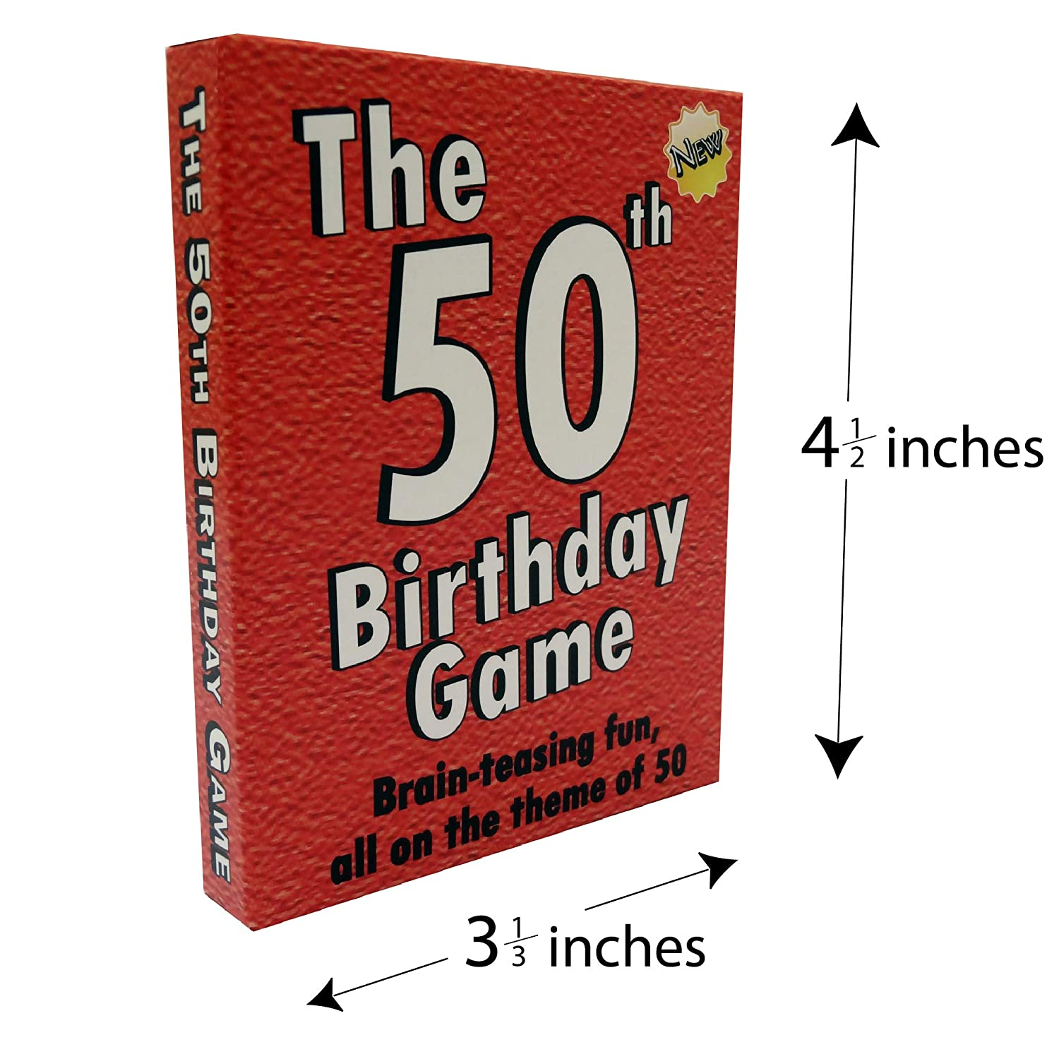 Amazon Toys Child The 50th Birthday Game Fun Party Idea Also A Uniquely Gift For Men And Women Games