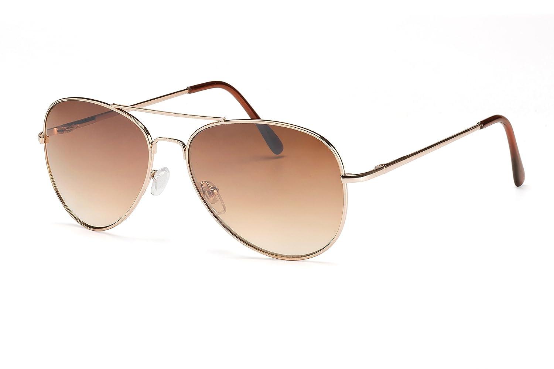 Eyewear World Unisex Damen Herren Sonnenbrille Aviator Metall-Weitere Variationen erhältlich hI9oH9lwX