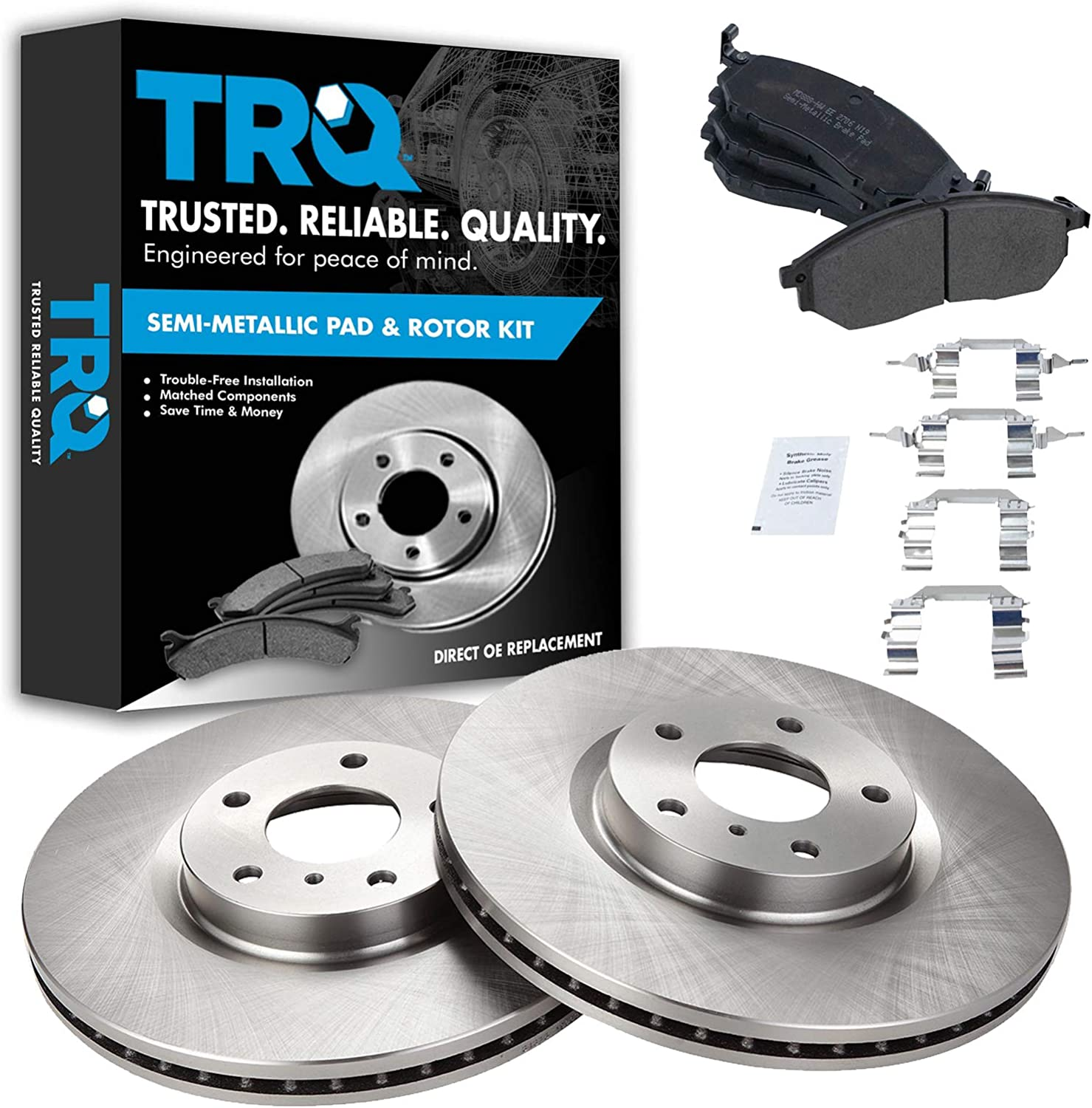 2003 Acura RSX Non Type-S Model OE Replacement Rotors w//Ceramic Pads F