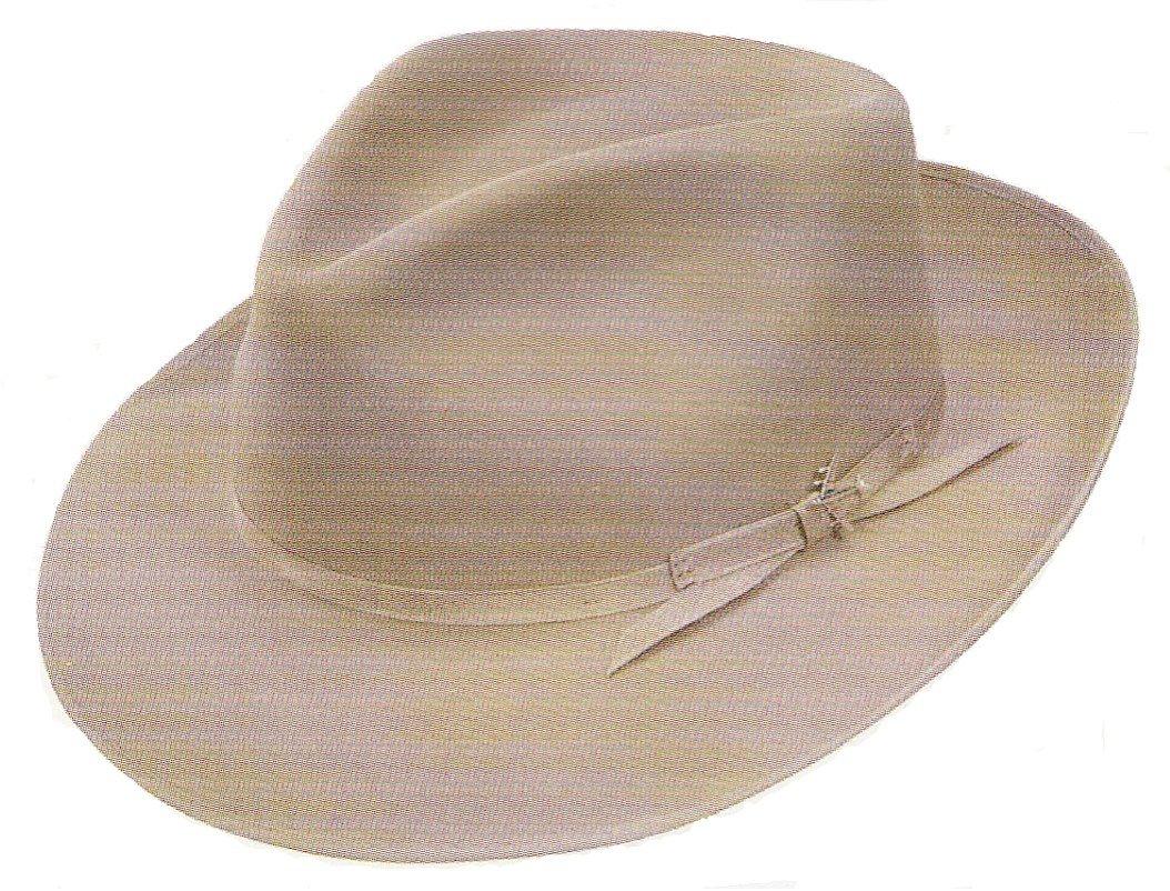 Stetson Men's Stratoliner Roayl Quality Fur Felt Hat, Silver Belly, 7.375