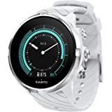 Suunto 9, GPS Sports Watch with Long Battery Life and Wrist-Based Heart Rate, Non-Barometer, White
