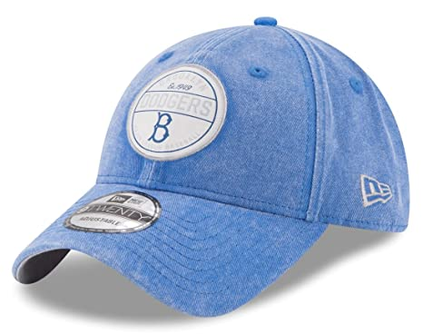 03e7bf85e888 Image Unavailable. Image not available for. Color  Brooklyn Dodgers New Era  MLB 9Twenty  quot Cooperstown Retro Patch quot  Adjustable Hat