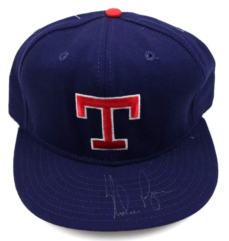 Nolan Ryan Rangers HOF Autographed Signed MLB New Era Diamond Collection Hat JSA Authentic