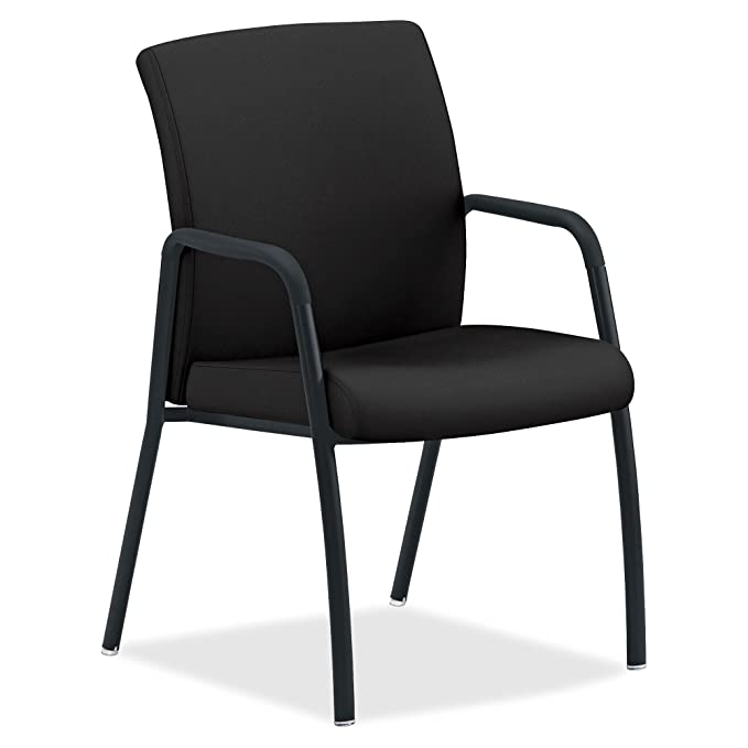 Amazon.com : HON Ignition 4-Leg Guest Chair - Fabric Black ...