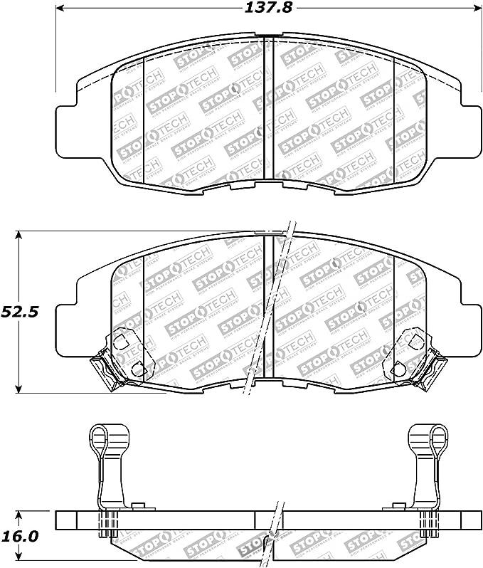 Red Hose /& Stainless Black Banjos Pro Braking PBK9780-RED-BLA Front//Rear Braided Brake Line