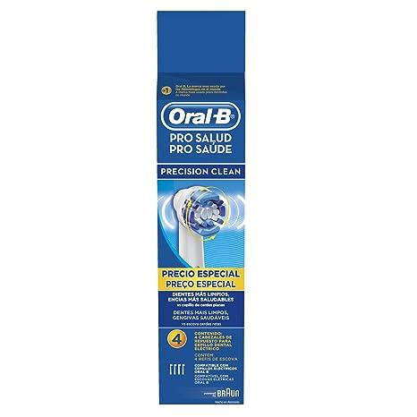 Oral-B Pro-Salud Precision Clean Repuestos Para Cepillo Electrico 4  Unidades  Amazon.com.mx  Salud 50395b9aced4