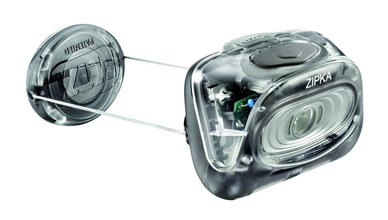 Petzl Zipka Headband flashlight Black - flashlights (Headband flashlight, Black, IPX4, 100 lm, AAA, ...
