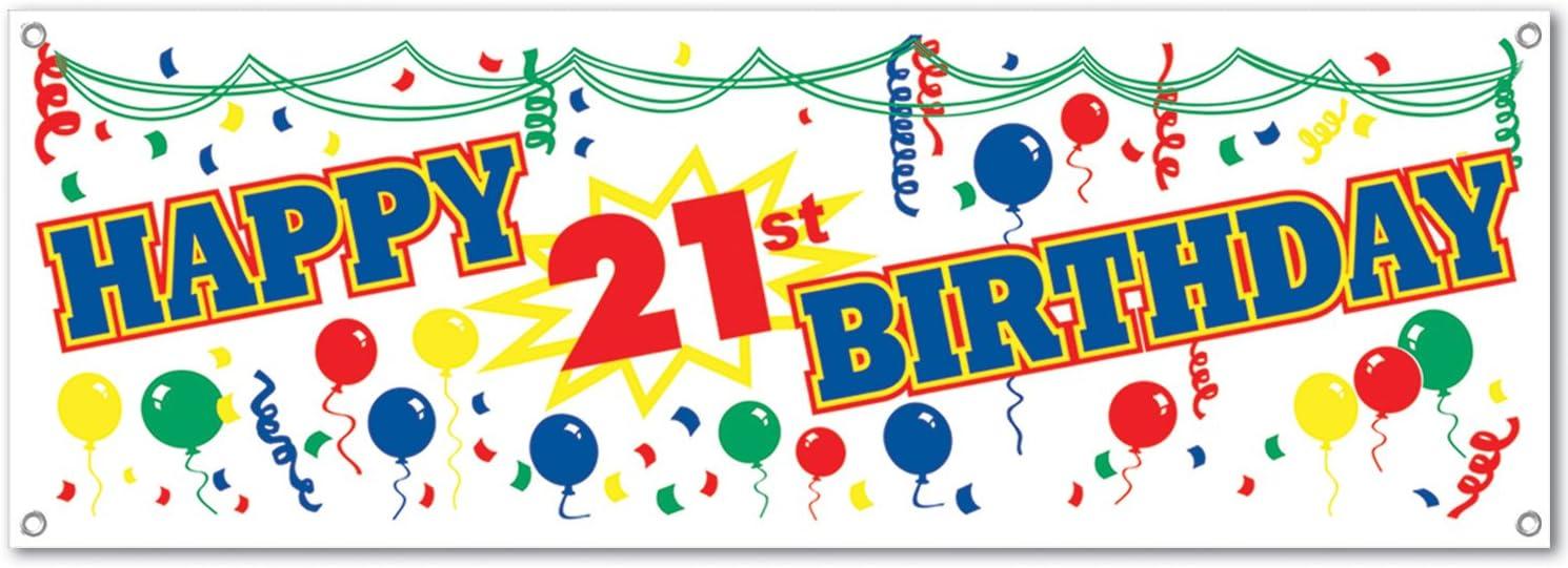 1//Pkg 1 count Big Bucks Banner Party Accessory