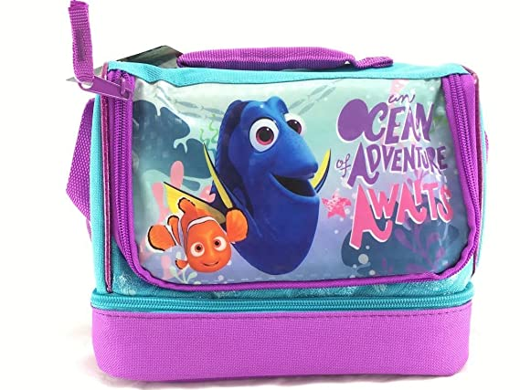 Disney FINDING DORY Kids LUNCH BAG School Picnic Box Pack Cool Bags Nemo Gift