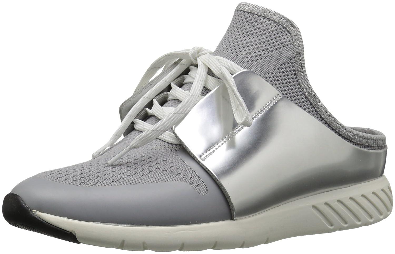 Dolce Vita Women's Braun Sneaker B07543D9NZ 8.5 B(M) US|Silver Knit