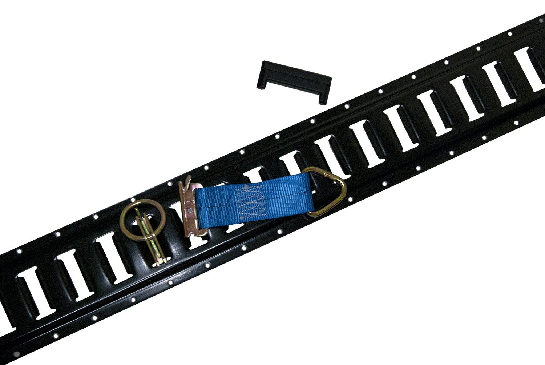 48 pc E Track Kit Enclosed Trailer Cargo Van Motorcycle Tie Down
