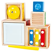 Odyssey Toys Hape Stacking Music Set Toy Percussion Instruments