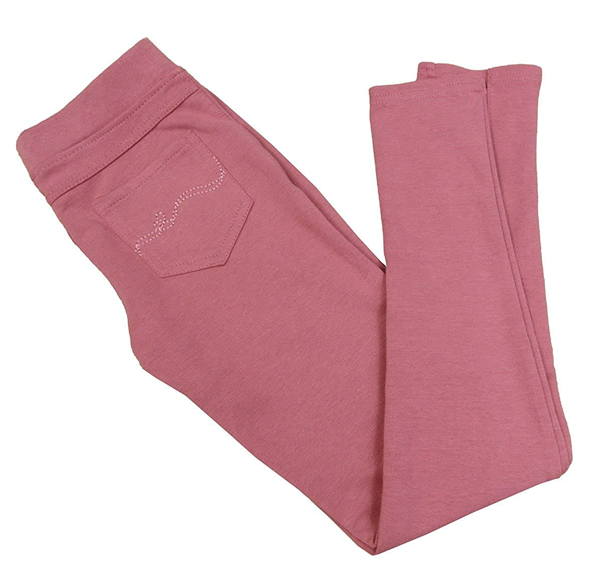 Epic Threads Big Girls Pintuck Ponte Pants Mauvewood Medium
