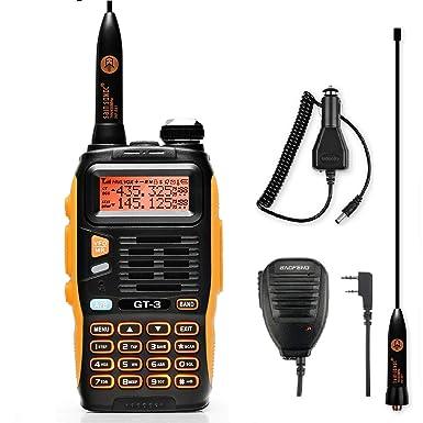BaoFeng GT-3 Mark II Two-Way Radio Walkie Talkie, Dual Band