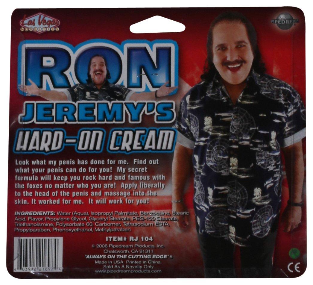 hvor stor er Ron jermeys penis