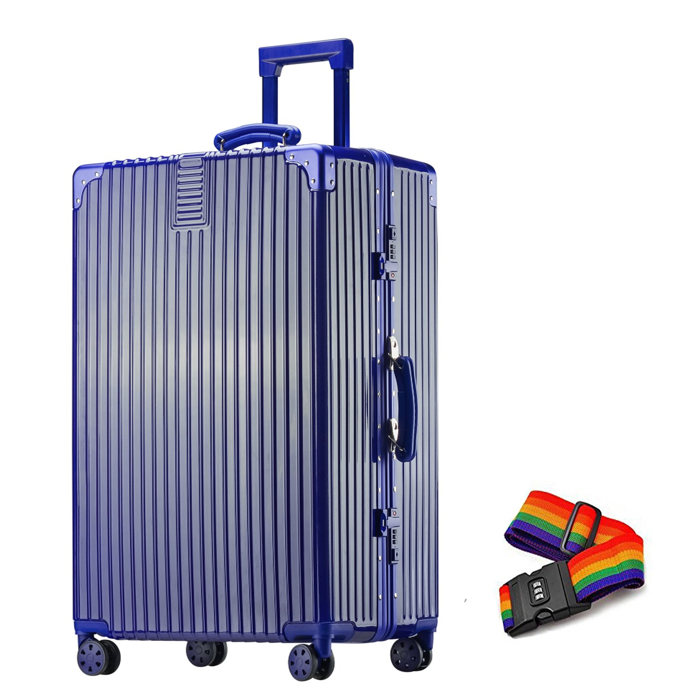 TabiGo スーツケース 軽量 キャリーケース TSAロック搭載 4輪ダブルキャスター 大容量 耐衝撃 B00QPZTG9A Sサイズ(機内持込OK/1~3泊/3.9KG/43L)|インクブール インクブール Sサイズ(機内持込OK/1~3泊/3.9KG/43L)
