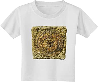 TooLoud Stone Carving Watercolor Toddler T-Shirt