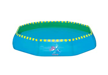 Piscina Infantil Bestway Kids Beach 99x99x20 cm: Amazon.es ...