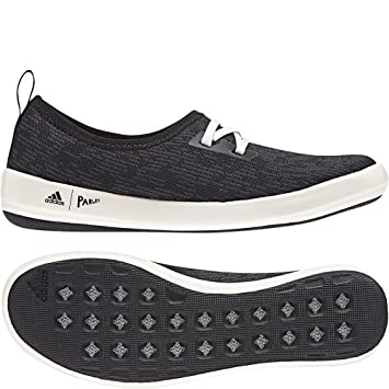 sale retailer 70510 be462 Amazon.com  adidas outdoor Womens Terrex CC Boat Sleek Parley Shoe (5.5 -  Black Carbon Chalk  Outdoor Hub