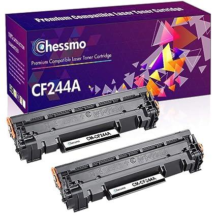 Chessmo - Cartucho de tóner Compatible HP CF244A 44A para ...