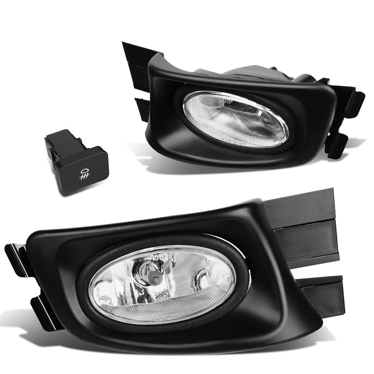 H11 Bulb Fog Light car lights Black For Honda Accord Acura TL JDM 4 Drs 03-07