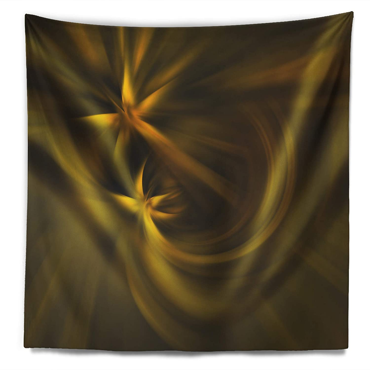 Designart TAP8183-32-39  Play of Golden Stars Abstract Blanket D/écor Art for Home and Office Wall Tapestry Medium Created On Lightweight Polyester Fabric x 39 in 32 in