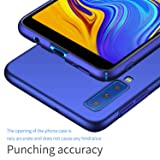 SHIWELY Ultra Thin Samsung Galaxy A7 2018 Case,Hard Polycarbonate PC Slim Fit Silky Smooth Phone Cover Case with Matte Finish for Samsung Galaxy A7 2018 Case