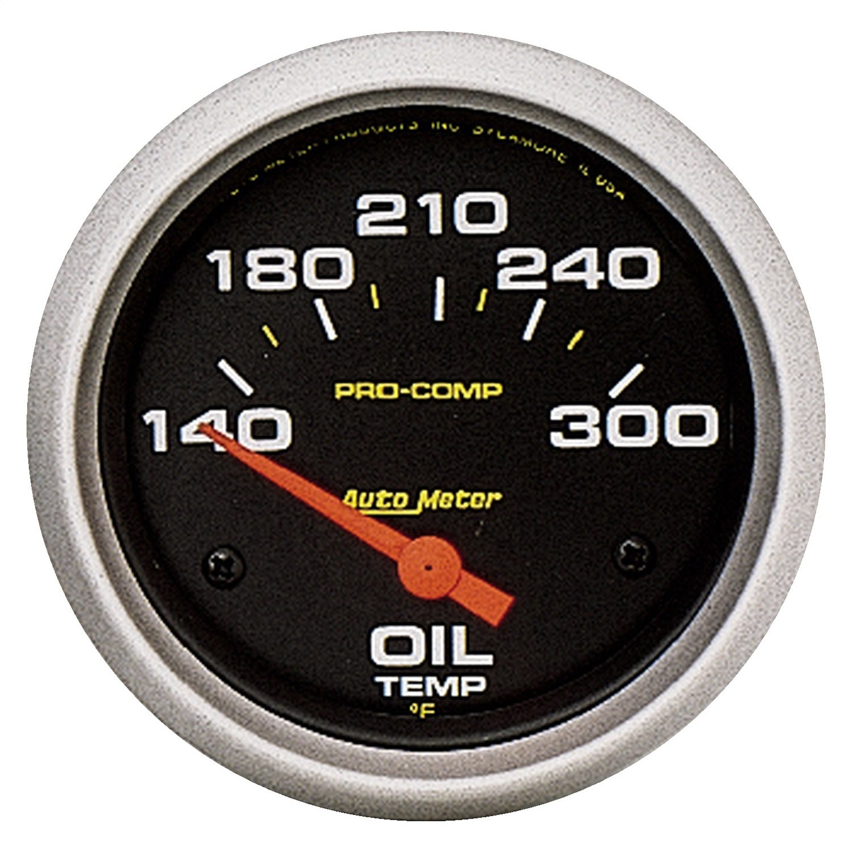 Auto Meter 5447 Pro-Comp Electric Oil Temperature Gauge by Auto Meter