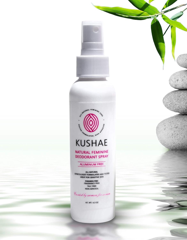 Kushae Feminine Deodorant Spray - All-Natural OB/GYN Created (K3-0SB3-8RUA)