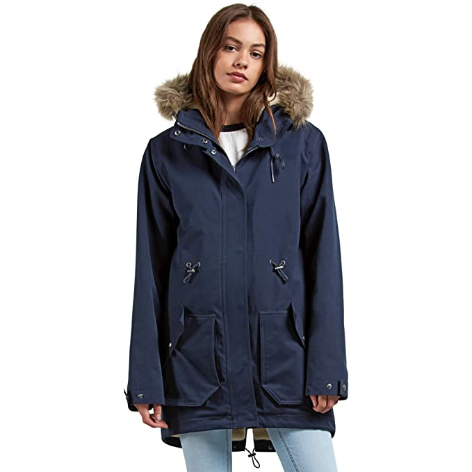 Amazon.com: Volcom Less Is More Heavy Weight Parka ...