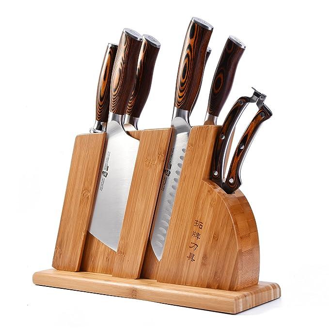Amazon.com: TUO - Juego de cuchillos para cubiertos con ...