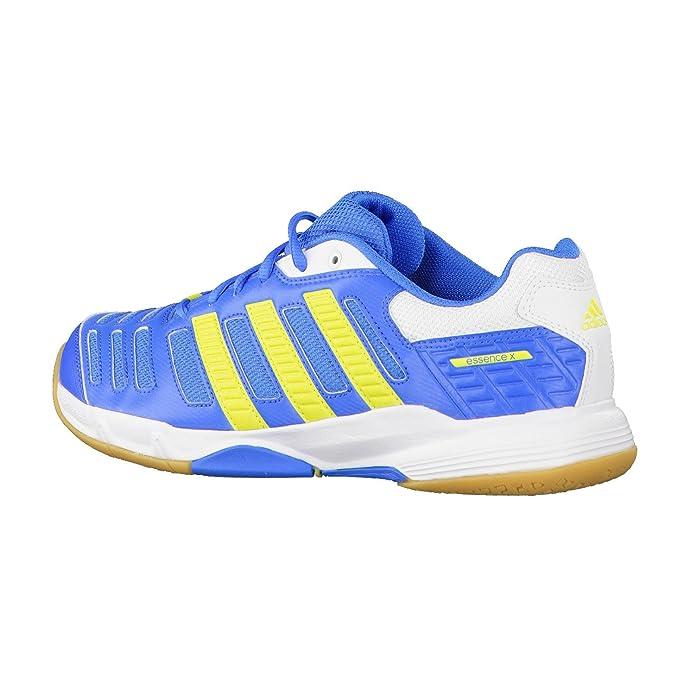 Adidas Herren Handballschuhe essence 10 38 bright blue/running white/lab  lime: Amazon.de: Schuhe & Handtaschen