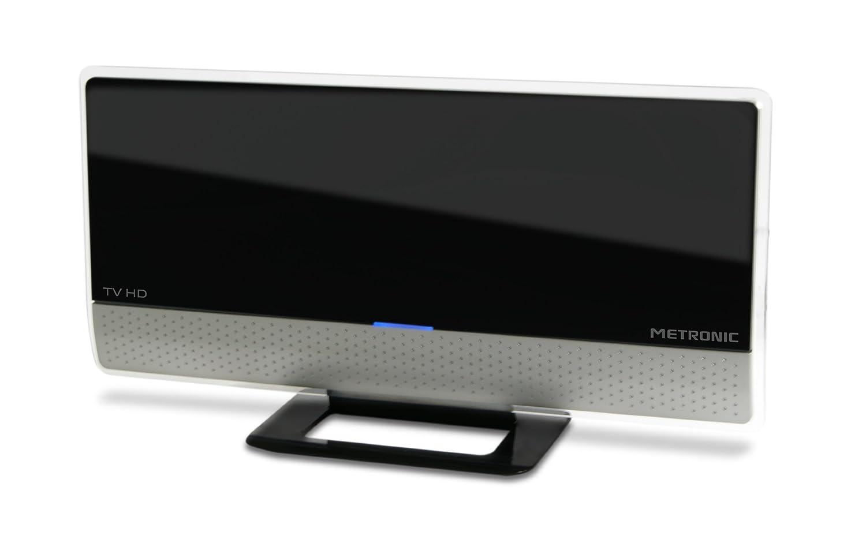 Metronic 416977 Antenne intérieur numérique HD Extra plat 40 dB ...