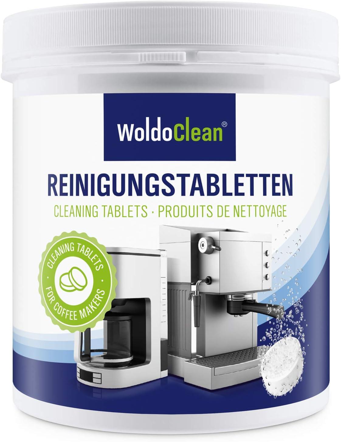 Pastillas para la limpieza de cafeteras automáticas - 260x tabletas limpiadoras compatible con marcas, Delonghi, Dolce Gusto, Nespresso, Seaco, Krups, Senseo, Bosch: Amazon.es: Hogar