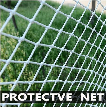 NAKAN Red De Valla Al Aire Libre Red De Protección del Campo De Juego Red De Malla Blanca, Red De Seguridad para Escaleras, Red De Jardín (Size : 2x3m(6x10ft)): Amazon.es: Hogar