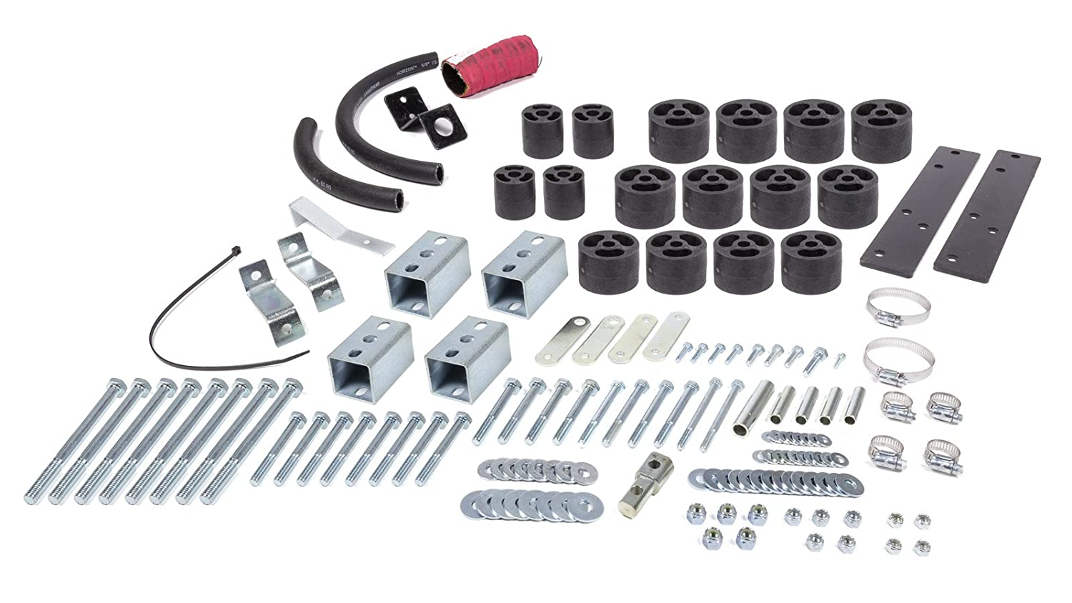 Performance Accessories, Chevy/GMC S-10/S15/Sonoma/ZR-2 2WD and 4WD Std/Ext Cab 2' Body Lift Kit, fits 1994 to 1997, PA102, Made in America Chevy/GMC S-10/S15/Sonoma/ZR-2 2WD and 4WD Std/Ext Cab 2 Body Lift Kit