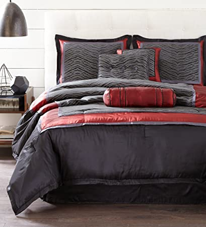 Wondrous Amazon Com Nanshing F Nairobi Collection Bedroom Comforter Beutiful Home Inspiration Xortanetmahrainfo