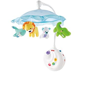 Amazon Fisher Price Precious Planet 2 In 1 Projection Mobile