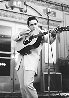 Johnny Cash Kunstdruck Zigarette