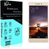 Kaira Pro HD+ 9H Hardness Toughened Tempered Glass Screen Protector For Xiaomi Redmi 3S and Redmi Prime