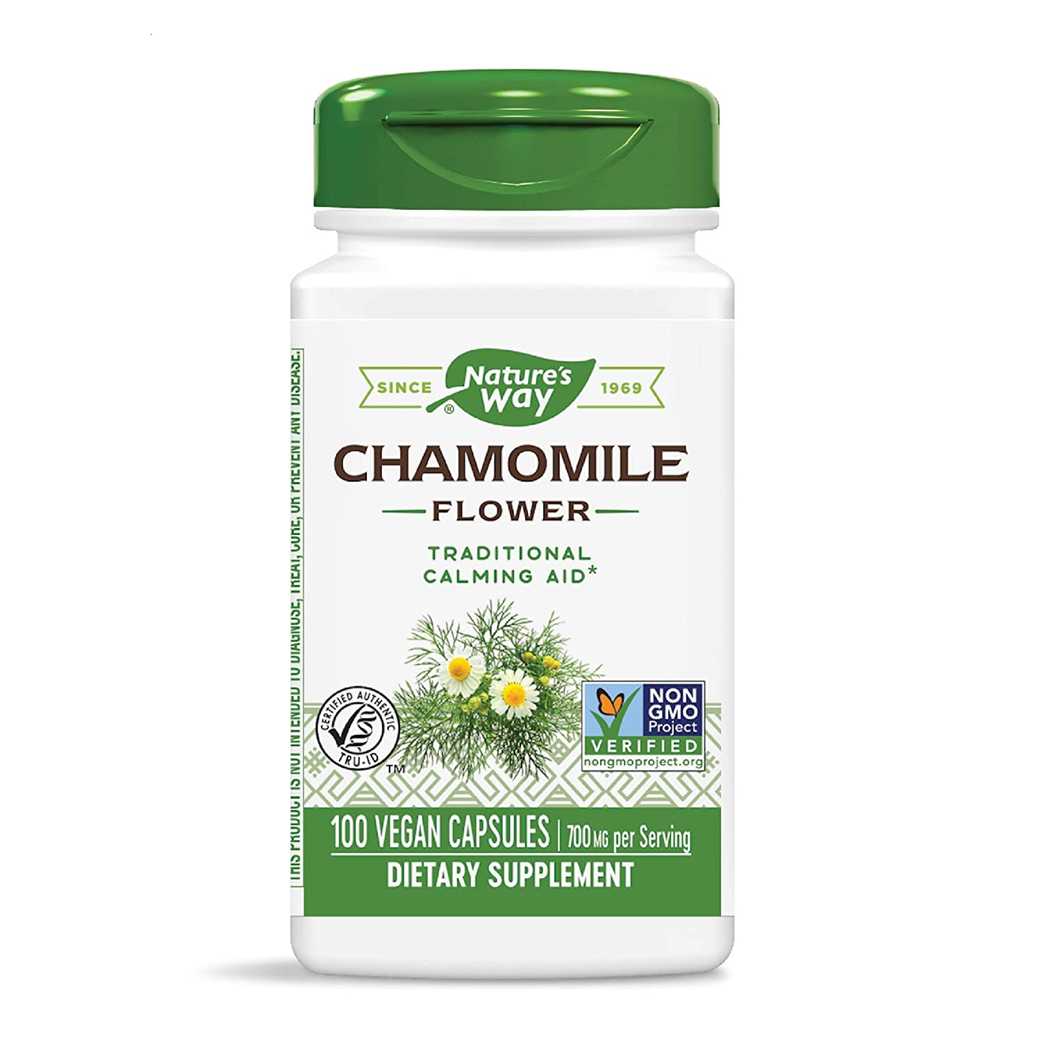 Nature's Way Chamomile Flowers , 350 mg, 100 Veg Capsules: Amazon.in: Health & Personal Care