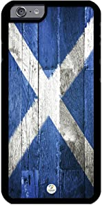 iZERCASE iPhone 6, iPhone 6S Case Scotland Flag Scottish Rubber CASE - Fits iPhone 6, iPhone 6S T-Mobile, Verizon, AT&T, Sprint and International